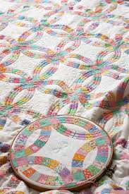 235 best double wedding ring quilts images on pinterest wedding