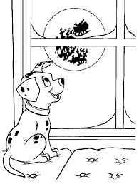 coloring pages 101 dalmation dalmatian sock coloring