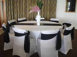 Black And White Chair Covers Perth Chair Covers Gallery