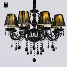 Black Chandelier With Shades Chandelier Fabric Jewel Editonline Us