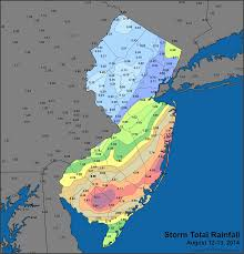 rainfall totals map mid atlantic deluge jersey weather and climate