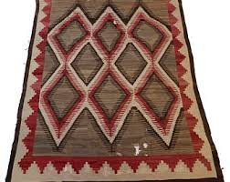 Antique Navajo Rugs For Sale Vintage Navajo Rug Etsy