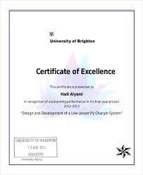 excellence award template kctati info