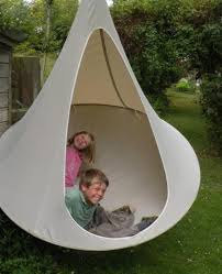 exterior design white cacoon hammock for inspiring hanging chair