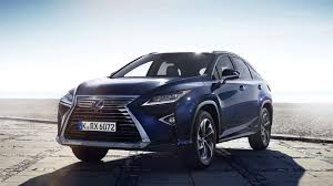 lexus dark blue 2017 lexus rx review