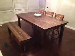 custom dining room table custom farmhouse dining table by gypsum valley made custommade com