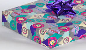 pre wrapped gift boxes christmas purple pre wrapped gift box christmas gift box by boxemporium