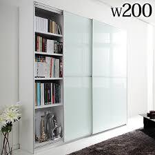 Sliding Door Bookcase Sliding Door Large Bookcase Thesecretconsul Com
