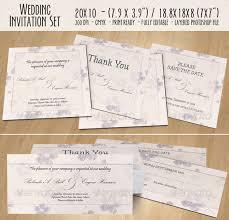 wedding invitation set wedding invitation set 02 by toasy graphicriver
