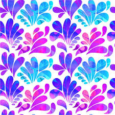 abstract arc drops in purple and blue tones vector free