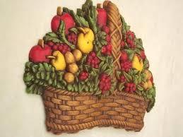 wall fruit basket wall fruit basket vintage fruit basket plaque wall for retro