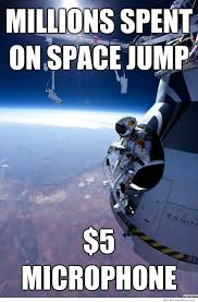 Meme Space - felix baumgartner s supersonic space jump a collection of the best