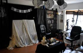 decoration halloween decorations black and white with paper