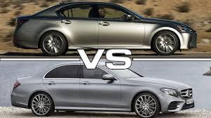 lexus es 250 vs bmw 5 series lexus gs vs mercedes e class youtube