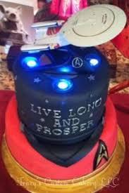 star trek uss enterprise cake decorating kit star trek party