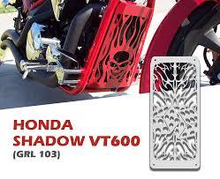 2008 Honda Shadow 1988 2008 Honda Shadow Vlx 600 Vt600 Radiator Grill Guard Grl 103