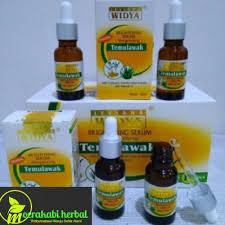 Serum Temulawak whitening serum temulawak moerakabi herbal store