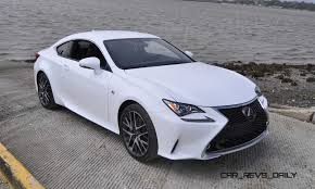 sporty lexus blue 2015 lexus rc350 f sport review