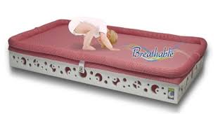 Crib Mattress Base Secure Beginnings Heaven Sent Breathable Crib Mattress Base