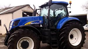 new holland t7040 powercommand 50kph youtube