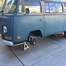 volkswagen van front view thesamba com bay window bus view topic disc brake conversions