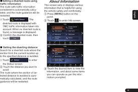qy8600 car navigation user manual clarion co ltd