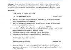 Sharepoint Developer Resume Sample by Innovation Ideas Sharepoint Developer Resume 2 Sharepoint