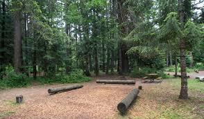 round lake state park campground camping in idaho