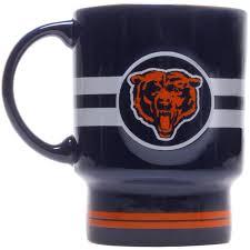 Cool Coffee Mug by Fitz And Floyd Coffee Mug Chicago Skyline Word Art Print Dark Blue