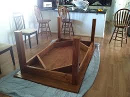 farmhouse dining room table plans ana white customized farmhouse table diy projects plans 3154826196