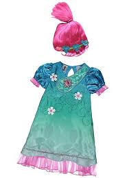 Asda Childrens Halloween Costumes Trolls Poppy Fancy Dress Costume Sound Costumes
