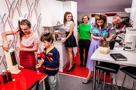 family embark on journey to dine through the decades for new tv show