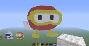 pooka from dig dug minecraft project