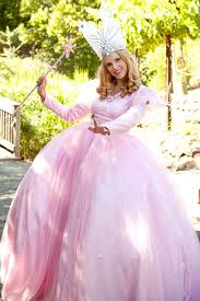 pink witch costume the wizard of oz glinda the good witch child deluxe costume