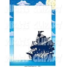 royalty free border stock pirate designs