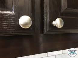 where is the best place to put knobs on kitchen cabinets knobs on everything plus tips to install