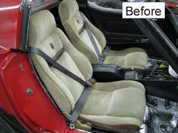 Car Seats Upholstery Mrmikes Leather Corvette Seat Upholstery