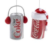 coca cola a coke 6 pack bottles ornament kurt s adler