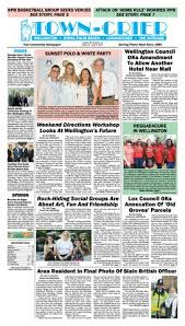 town crier newspaper april 14 2017 by wellington the magazine llc