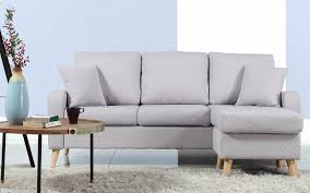 Light Grey Tufted Sofa by Sectional Sofas Leather Sectionals Reclining Sectionals