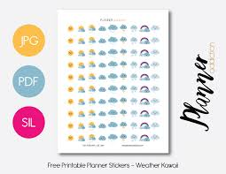 weather kawaii u2013 planner addiction