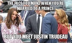 Justin Trudeau Memes - viral memes of ivanka trump staring at justin trudeau daily mail