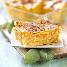 cuisiner la citrouille lasagnes à la citrouille et au boursin recette recette lasagne