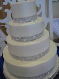 rhinestone cake decadent designs s rhinestone wedding cake