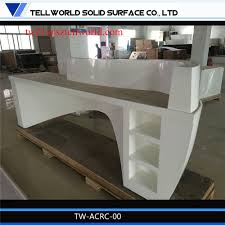 Modern Corian Office Table Design China Modern Design Office Counter Clinic Receptionist Table Hotel