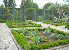 fenced vegetable garden building a fence backyard design home