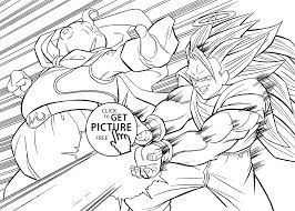 dragon ball z coloring books coloring page 5 dragon ball z