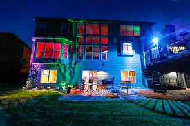 Colored Landscape Lighting Multi Color Led Landscape Lighting Far Fetched Changing Rgb In