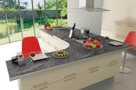 table de cuisine en stratifié plans chants épais abs stratagem plans de travail stratifiés