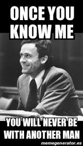 Educated Black Man Meme - shi ge ryu and horror ted bundy meme